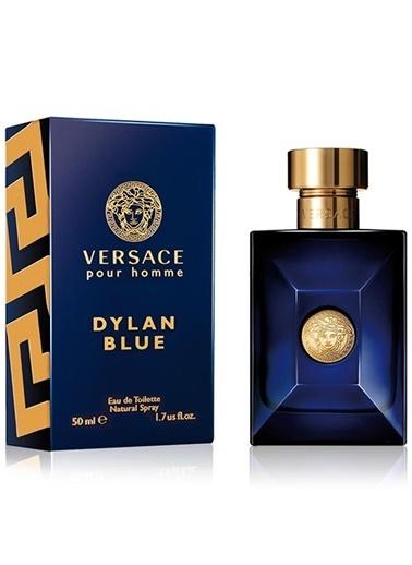 Versace Dylan Blue Pour Homme Edt 50 Ml Erkek Parfüm Renksiz